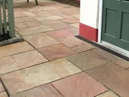 Modak Natural Sandstone Patio Kit